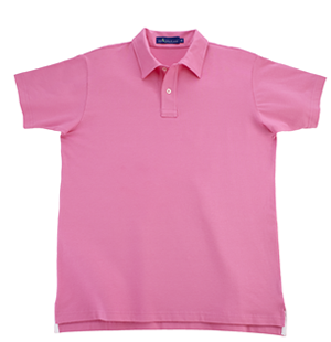 Pink KP MacLane Men's Polo
