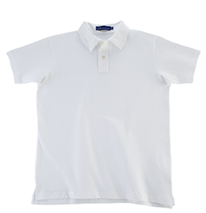 Tennis White KP MacLane Men's Polo