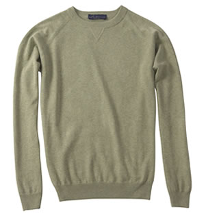 Light Forest KP MacLane Men's Sweater