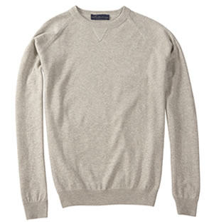 Heather Grey KP MacLane Men's Sweater
