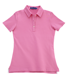 Parrot Pink KP MacLane Womens's Polo