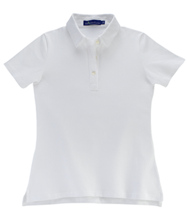 Tennis White KP MacLane Womens's Polo