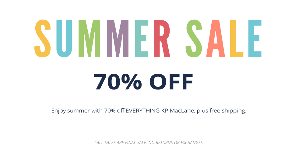 SUMMER SALE 70% OFF