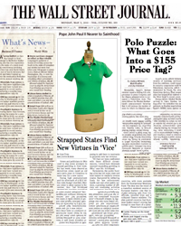 Polo Puzzle: What Goes Into a $155 Price Tag?