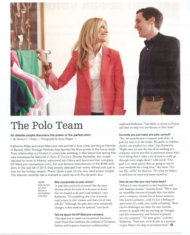 The Atlantan: Polo Team